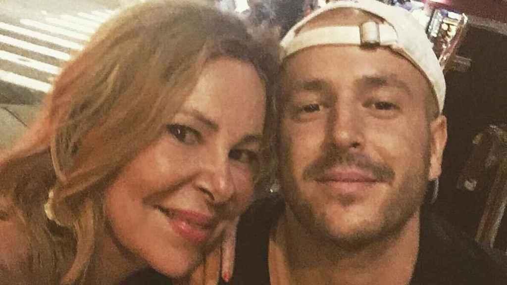 Ana Obregón y su hijo Álex, en su última foto de Instagram.