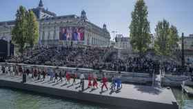 El desfile de L'Oréal.