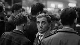 Charles Aznavour en París, 1956.