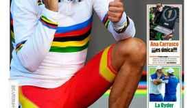 La portada del diario MARCA (01/10/2018)