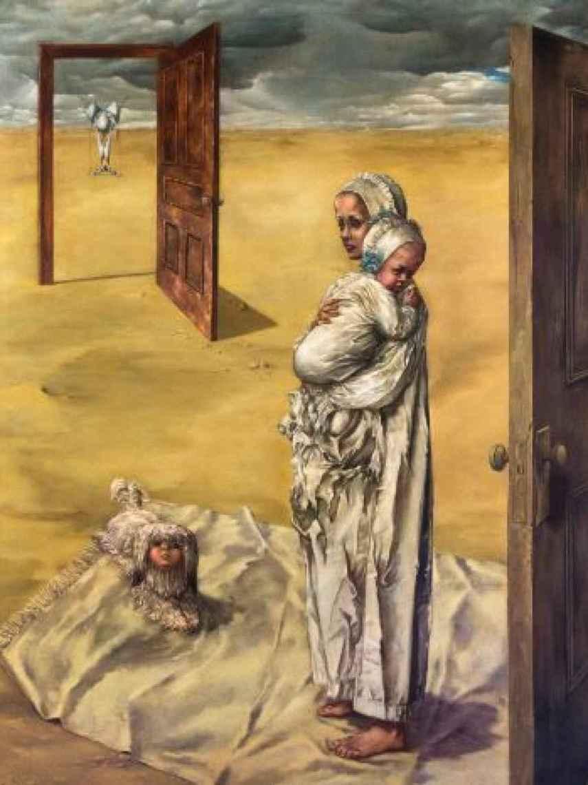 Maternity, Dorothea Tanning. Museo Reina Sofía.