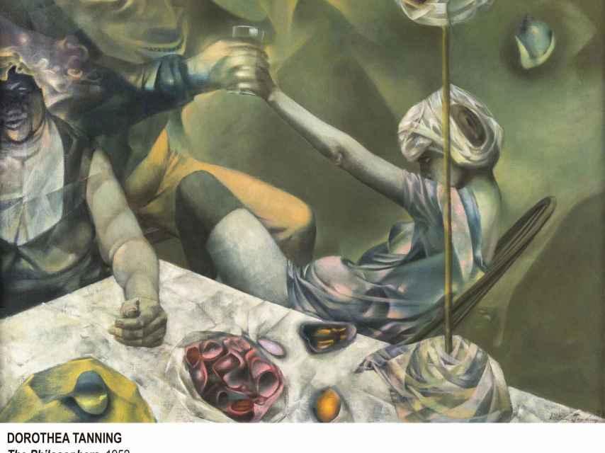 The Philosophers, Dorothea Tanning. Museo Reina Sofía.