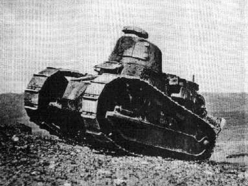 Imagen de archivo de un FT-17.