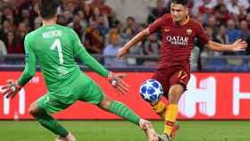 Cengiz Under de la Roma anota el 3-0