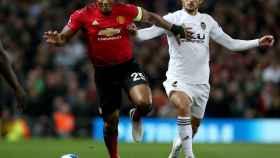 Valencia y Guedes en el duelo de Champions