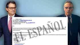 El expresident Artur Mas y Joan Gaspart, empresario y exdirigente del FC Barcelona, maniobraron vía mail por evitar la DUI.