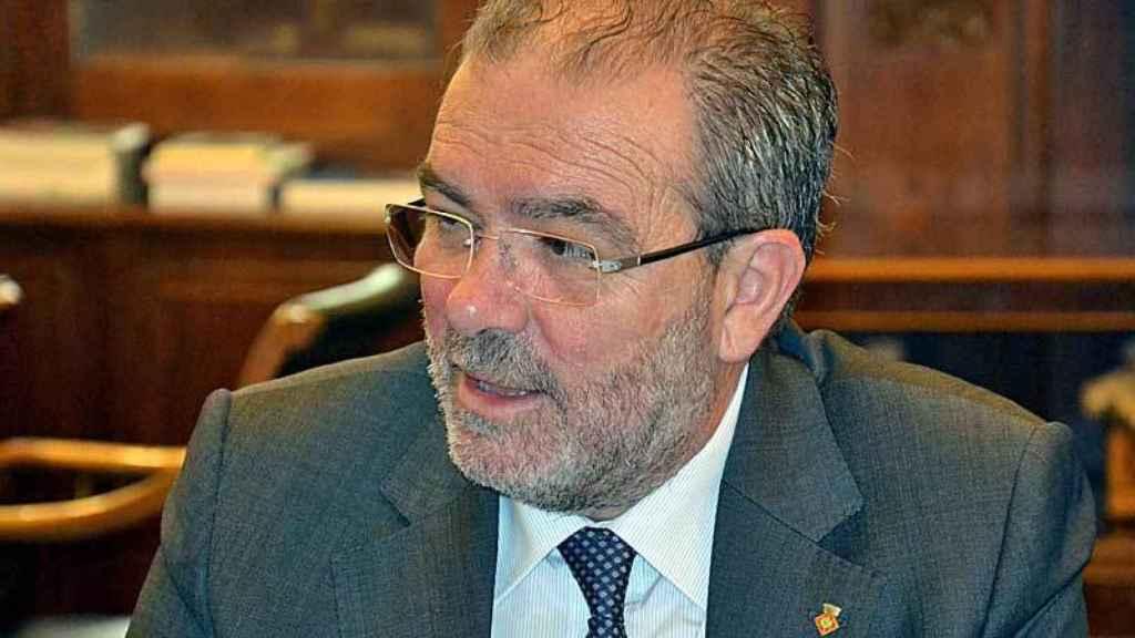 El presidente de la Diputación de Lleida, Josep Reñe.