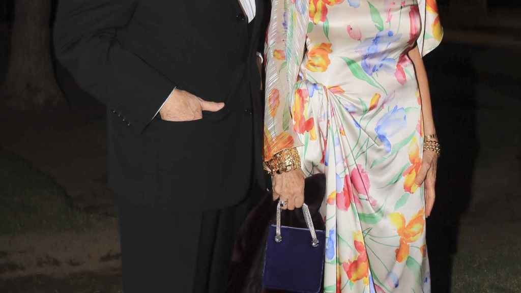 Jaime Peñafiel y su mujer, Carmen.