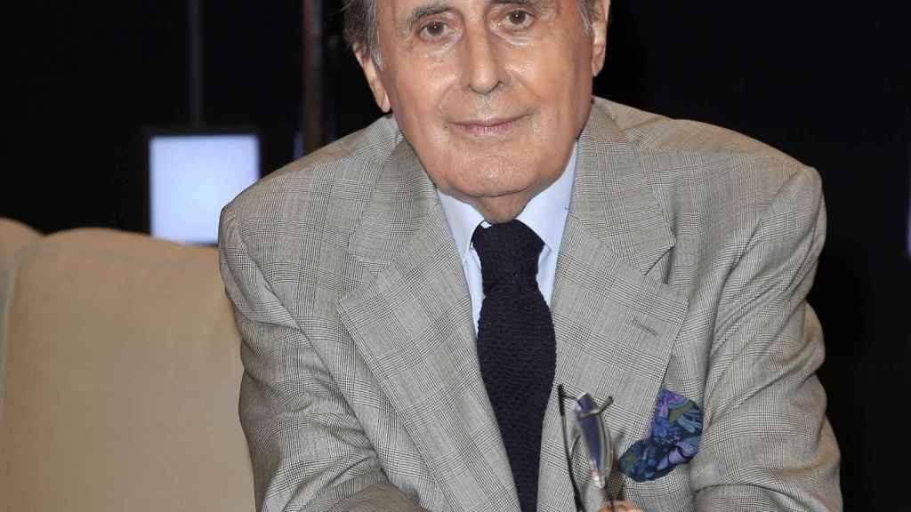 El periodista Jaime Peñafiel.