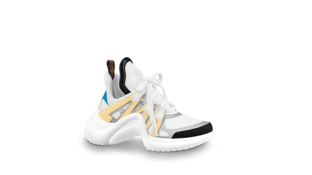 Zapatillas de Louis Vuitton.