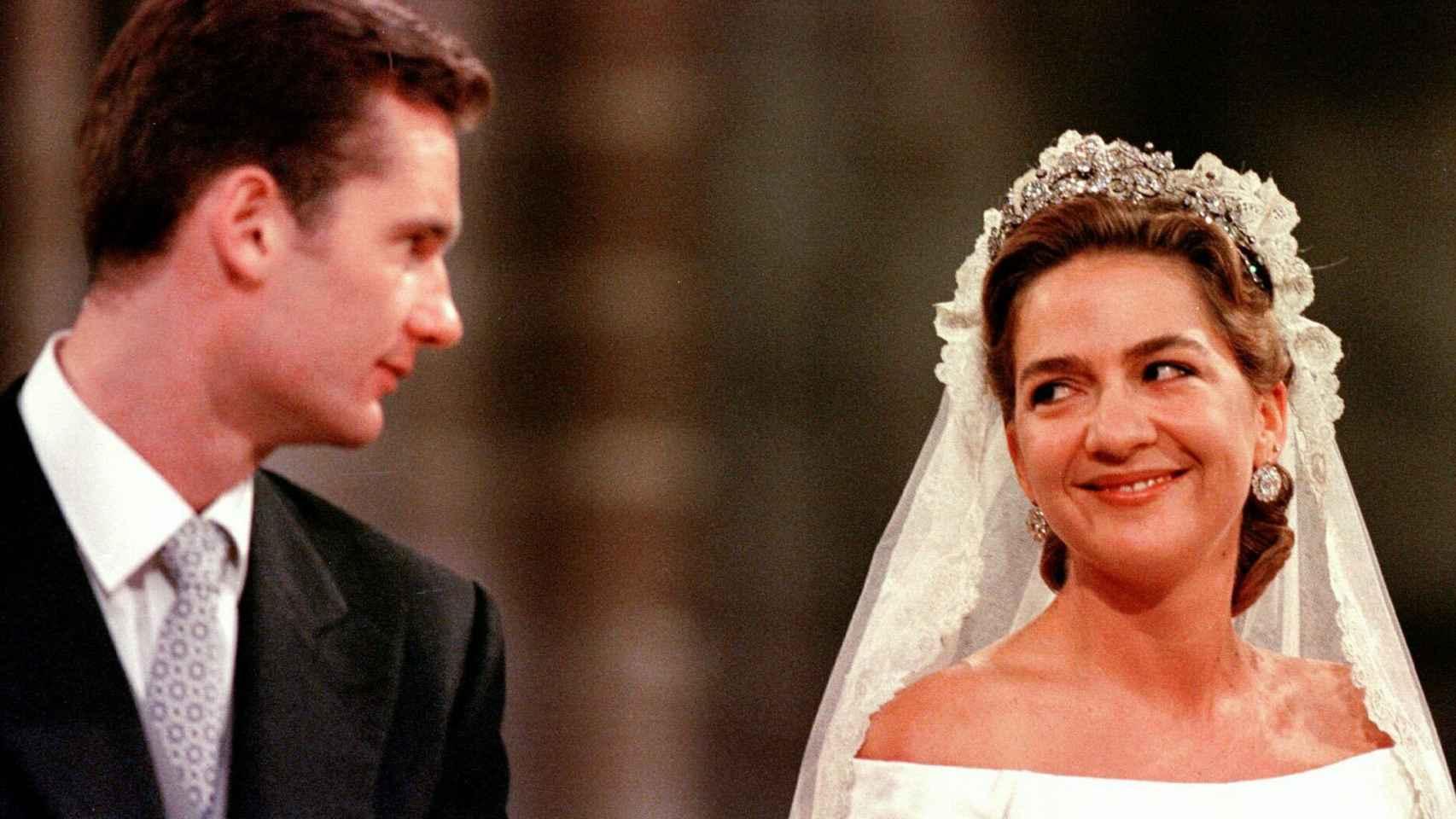 La boda de la infanta Cristina e Iñaki Urdangarin en imágenes