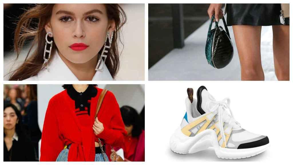 Montaje de JALEOS con algunas imágenes de las tendencias de la Semana de la Moda de París.