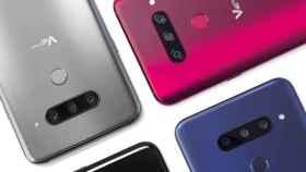 El LG V40 contra sus rivales: Xperia XZ3, Galaxy Note 9 y P20 Pro