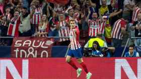 Antoine Griezmann celebrando un gol