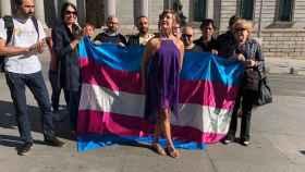 Miembros del Colectivo Trans anuncian una huelga de hambre a las puertas del Congreso por el bloque de Podemos a su ley.