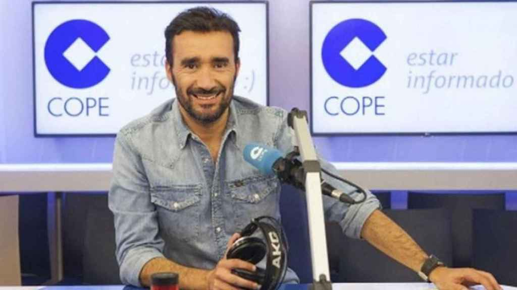 Juanma Castaño, periodista asturiano de la Cadena COPE