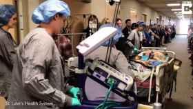 El emotivo homenaje de este hospital a un donante de órganos