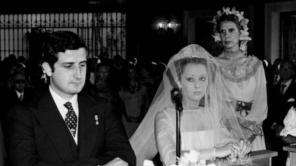La boda de Alfonso Martínez de Irujo y María de Hohenlohe.