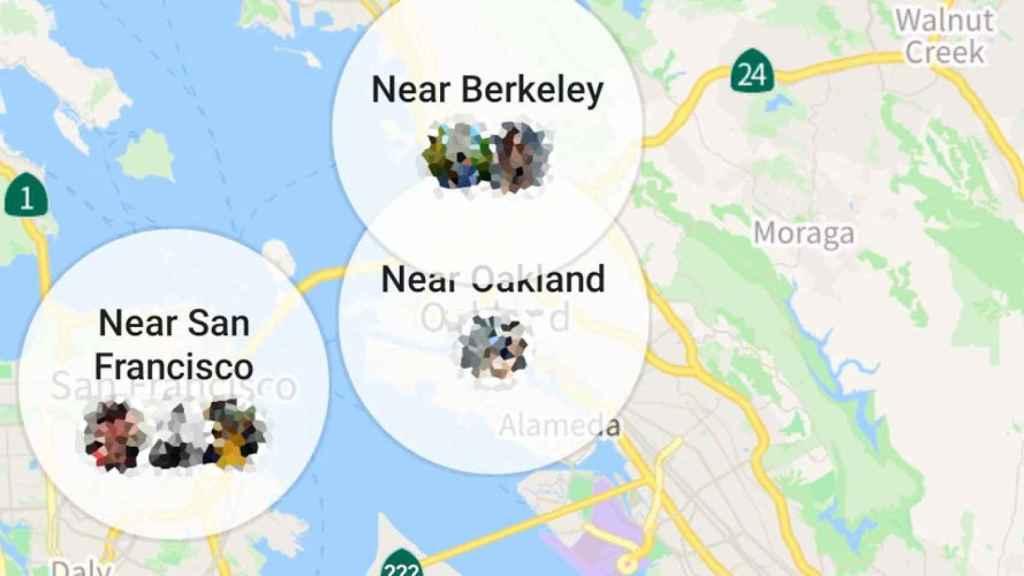 facebook mapa amigos cerca