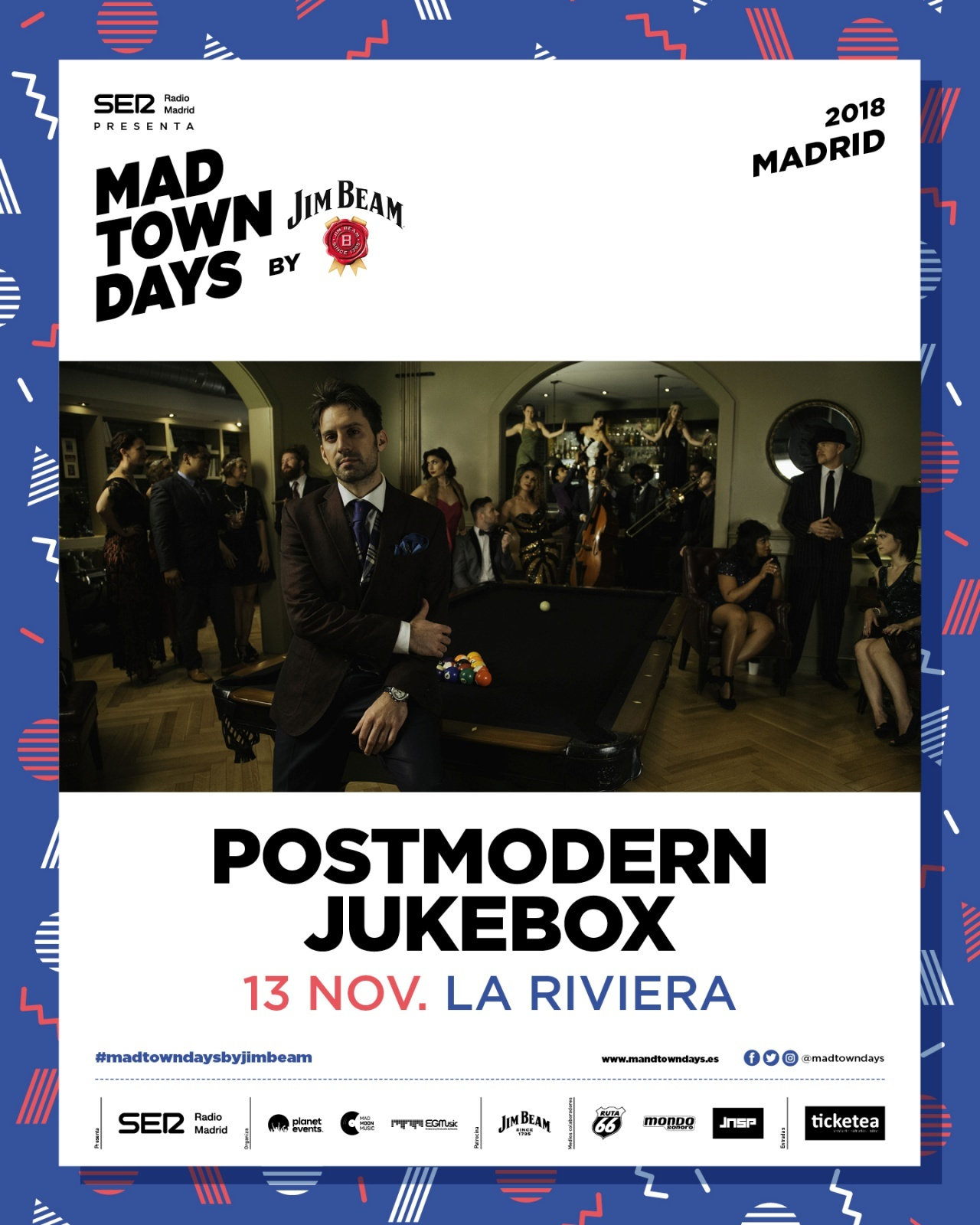 6 Postmodern Jukebox 13 Nov