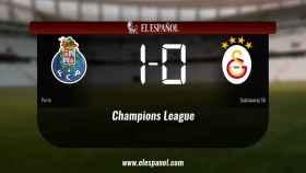 Los tres puntos se quedaron en casa: Oporto 1-0 Galatasaray SK