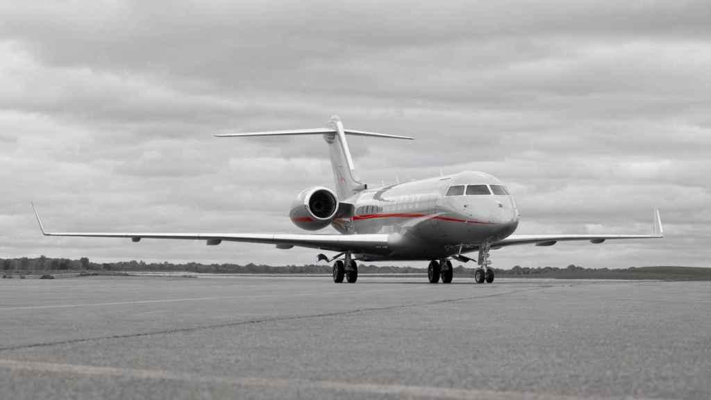 Avión de Vistajet, en una imagen de archivo.