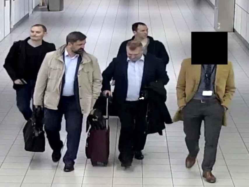 Los 4 ciudadanos rusos acusados de intento de ciberataque en La Haya