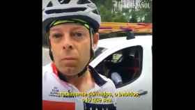 Un vídeo viral de un ciclista reactiva las alarmas de los accidentes de tráfico con ciclistas involucrados.