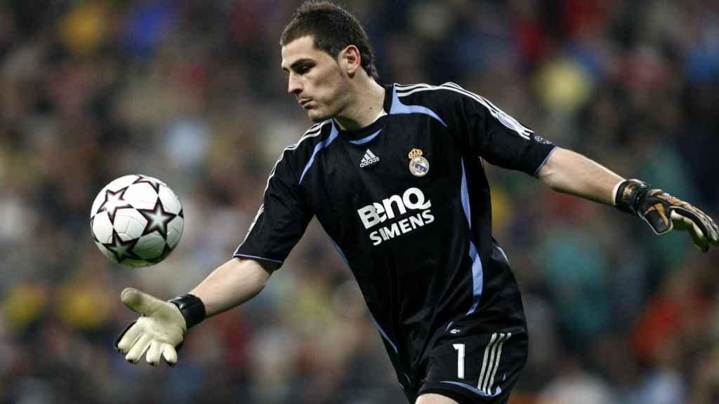 Iker Casillas en el año 2007