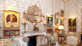 Uno de los salones del palacio de Liria.