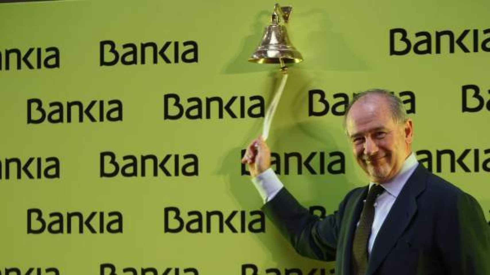 Rodrigo Rato, a la salida de Bankia a Bolsa.
