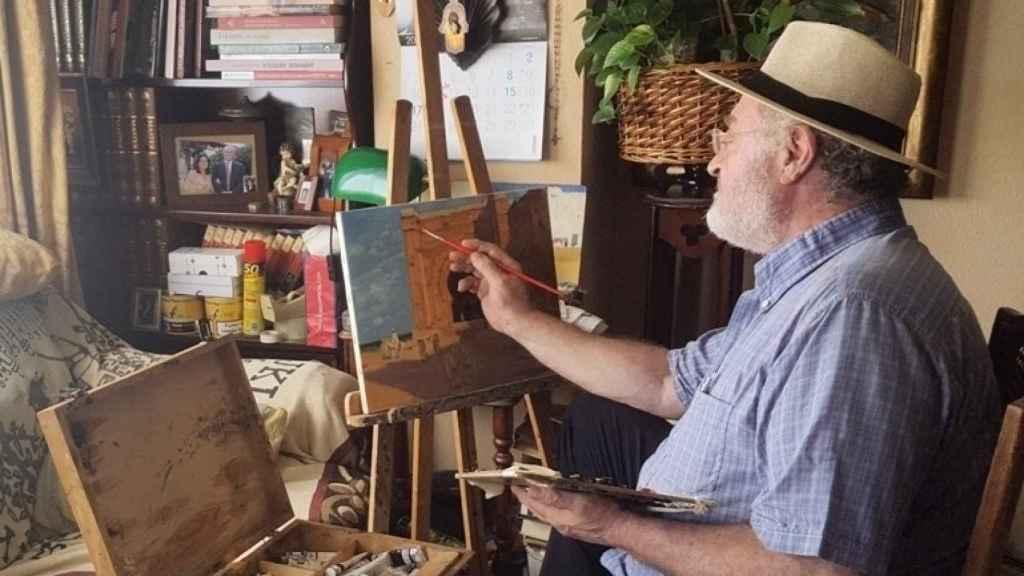 Mariano Bertuchi Alcaide, albacea del legado del pintor granadino