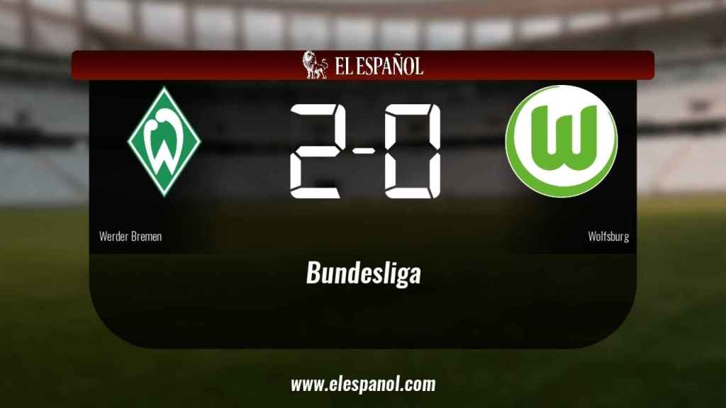 El Werder Bremen derrotó al Wolfsburg por 2-0