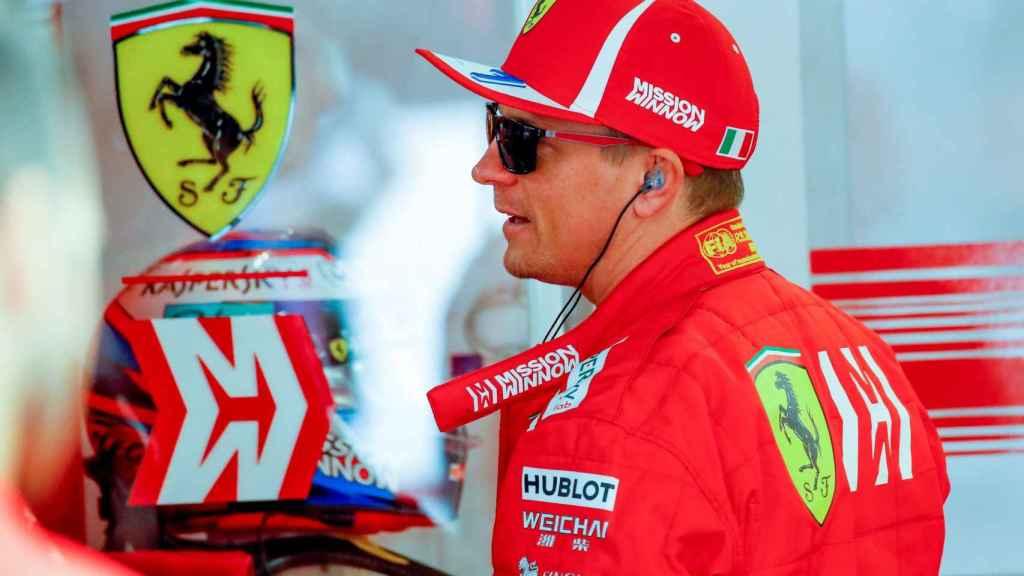 Kimi Raikkonen en el Gran Premio de Japón