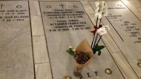 Esta es la tumba elegida por los Franco para cuando el dictador salga del Valle.