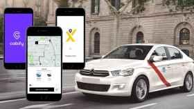 Aplicaciones de taxis.