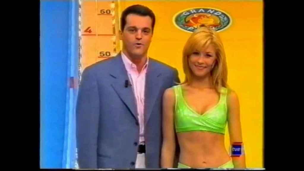 Ramón García junto a Pilar Soto.