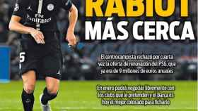 La portada del diario Sport (06/10/2018)