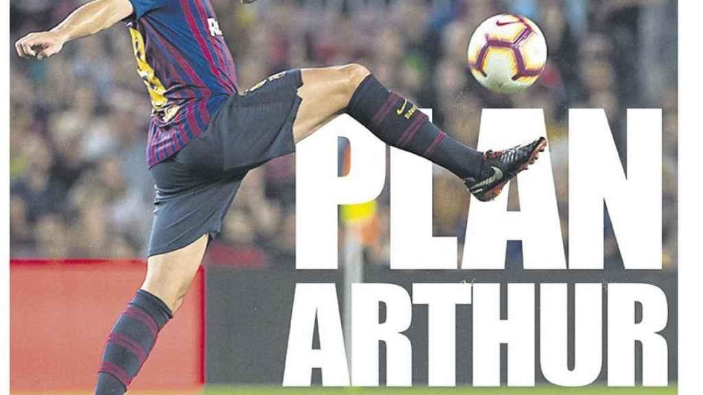 La portada del diario Mundo Deportivo (06/10/2018)