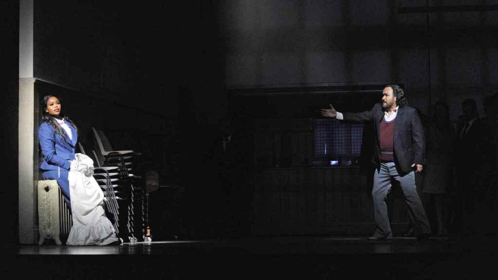 Pretty Yende y Javier Camarena, estrellas de I Puritani, en el Liceu de Barcelona.
