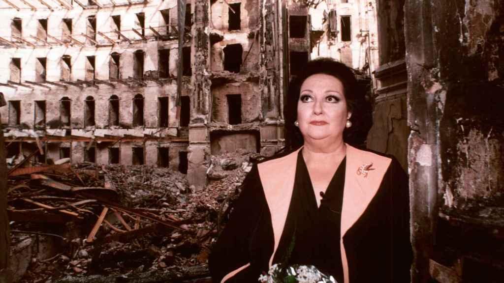 Montserrat Caballé en 1994. EFE.
