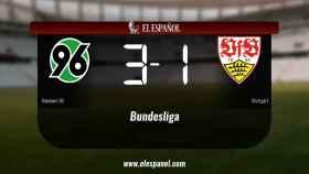 El Hannover 96 venció como local al Stuttgart