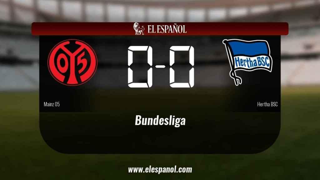 El Mainz 05 y el Hertha BSC sólo sumaron un punto (0-0)