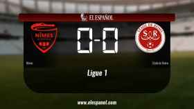 El Nîmes y el Stade de Reims sólo sumaron un punto (0-0)
