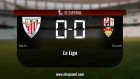 Empate (0-0) entre el Bilbao Ath. y el Logroñés