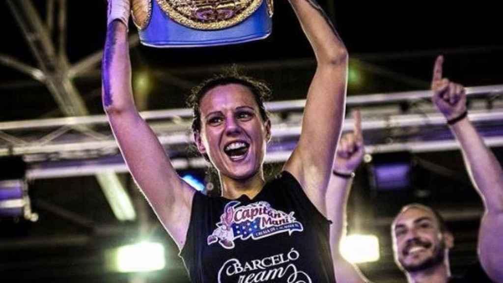 Joana Pastrana, campeona del mundo.