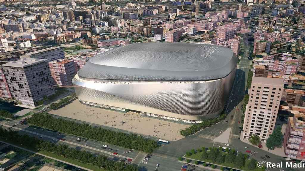 Nuevo Bernabeu: un crédito singular para un estadio singular