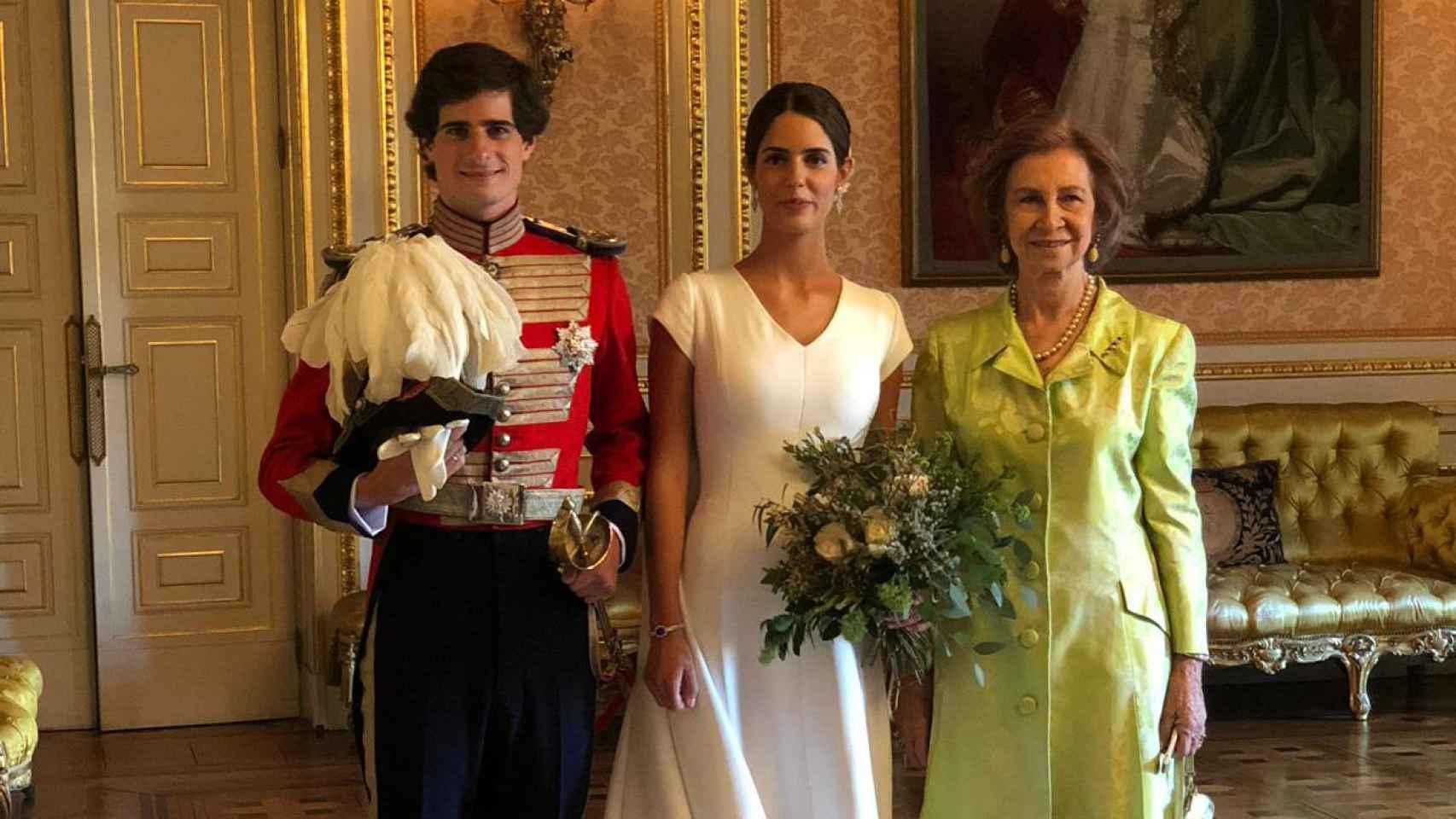 Las imágenes inéditas de la boda de Fernando Fitz-James Stuart y Sofía Palazuelo