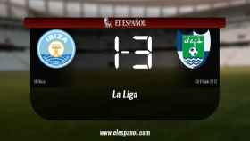 El Ibiza cae derrotado ante El Ejido 2012 (1-3)