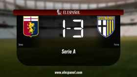 El Génova pierde 1-3 frente al Parma
